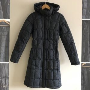 The North Face 550 fill goose down hooded coat